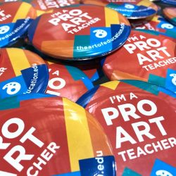 I'm a PRO art teacher buttons