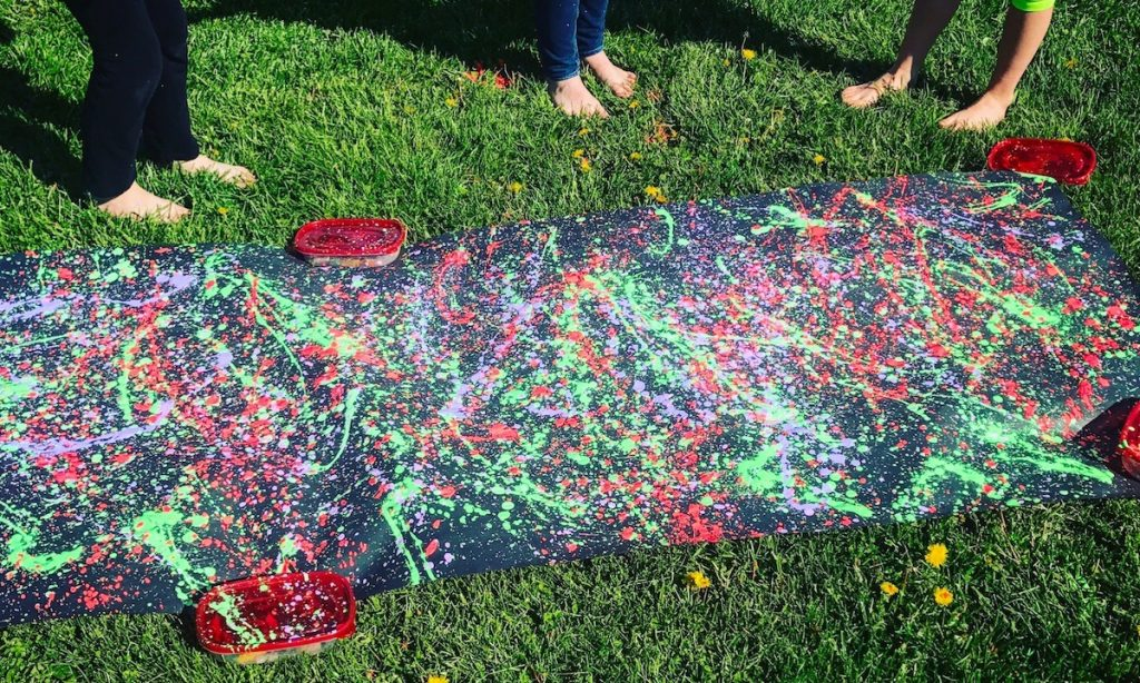 splatter paint