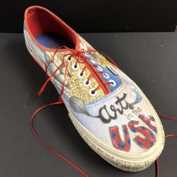 decorated shoe