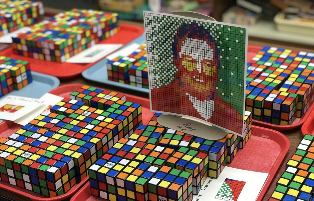 Unsolved Rubik's Cubes With Image