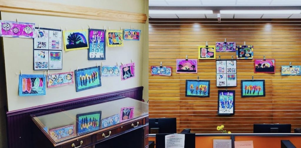 community art display