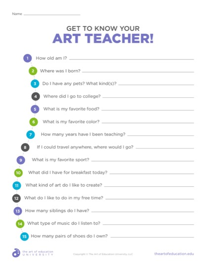 https://theartofeducation.edu/content/uploads/2019/09/53.1GetToKnowYourArtTeacher-1.pdf