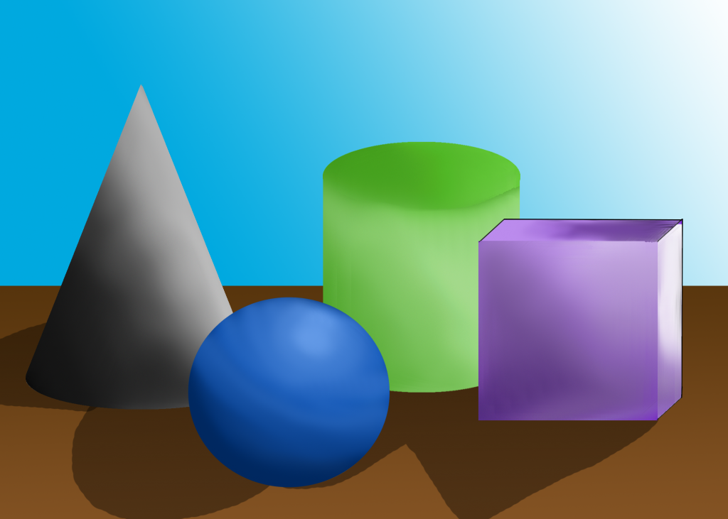 Image of 3D forms