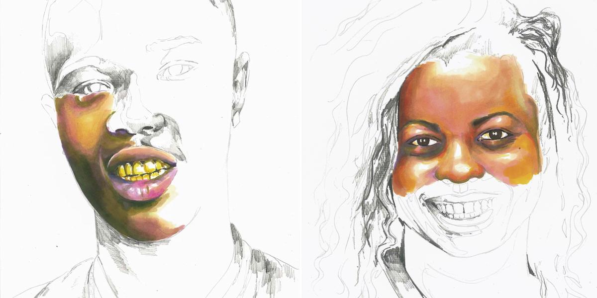 Portraits by Adrian Brandon