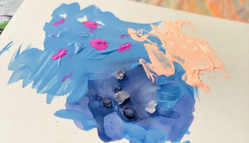 paint on paper