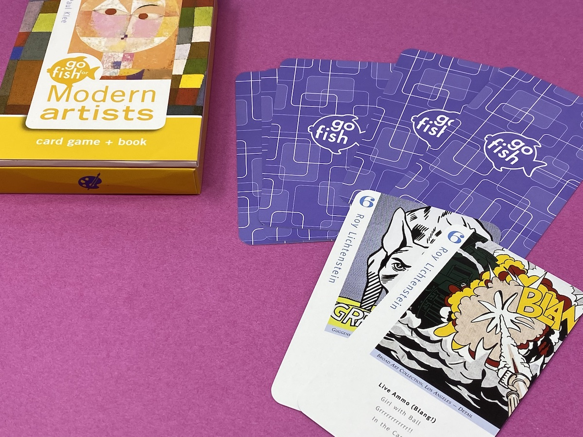 Go fish for the art classroom