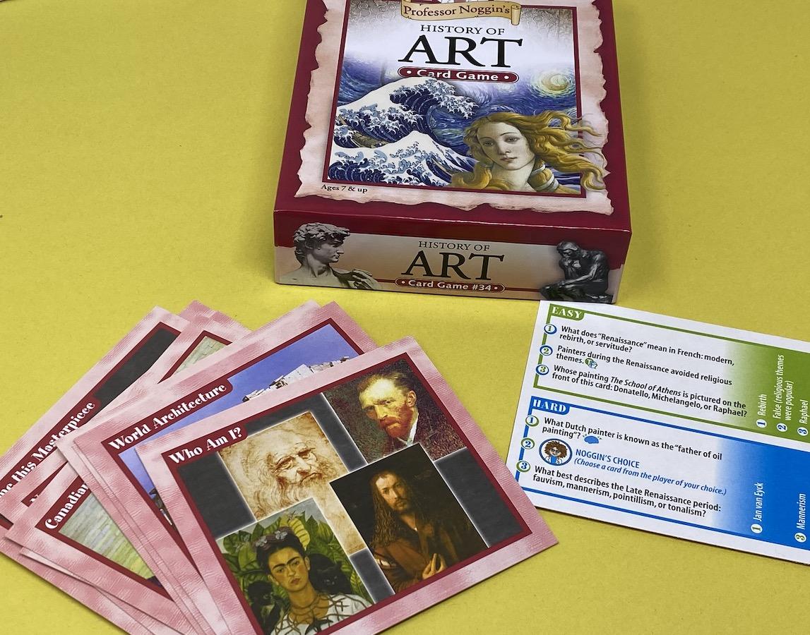 Professor Noggin's Art History Game