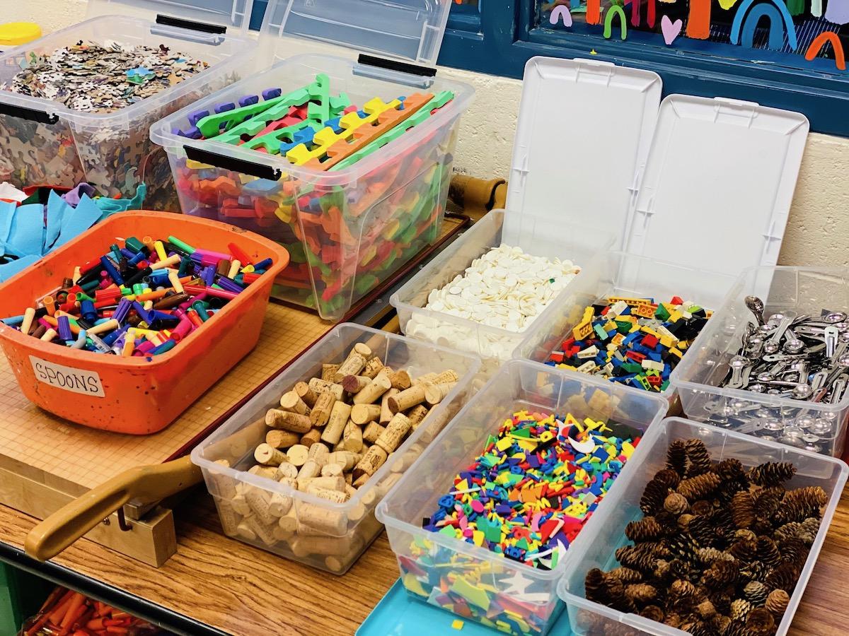 Art supplies for challenge